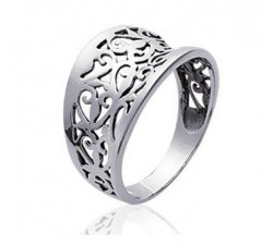 Lace - Silver Ring
