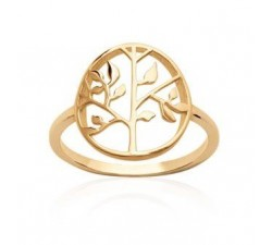 Tree of Life - Gold-Plated Ring