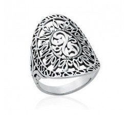 Ethnic - Silver Ring