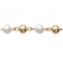 Pearl - Gold-Plated Bracelet