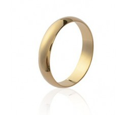 Wedding Large - Gold-Plated Ring