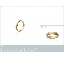 Wedding Large - Gold-Plated Ring-alt
