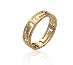 Cyclades - Gold-Plated Ring