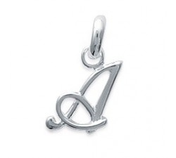 Letters of the Alphabet - Silver Pendant