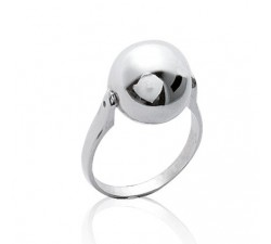 Ball - Silver Ring