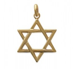 Star of David - Gold-Plated Pendant