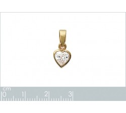 Heart - Gold-Plated Pendant-alt