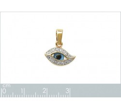 Protective Eye - Gold-Plated Pendant-alt