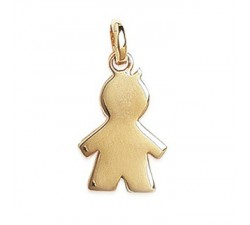 Boy - Gold-Plated Pendant
