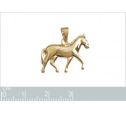 Horse - Gold-Plated Pendant-alt