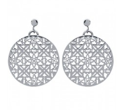 Lace - Stainless Steel Earrings