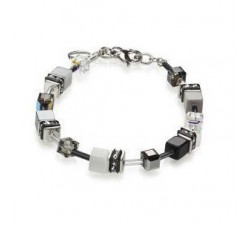 4014 White Grey - Bracelet Cœur de Lion