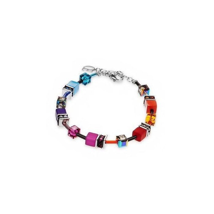2838 Multicolor Rainbow - Bracelet Cœur de Lion