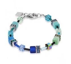 Bracelet Coeur de Lion - 2838 Blue-Green