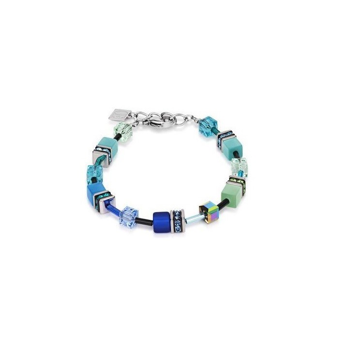 2838 Blue Green - Bracelet Cœur de Lion