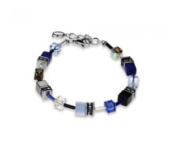 4014 Blue Grey - Bracelet Cœur de Lion