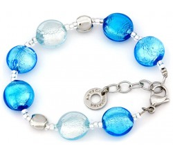 Frida - Light Blue - Bracelet - Antica Murrina
