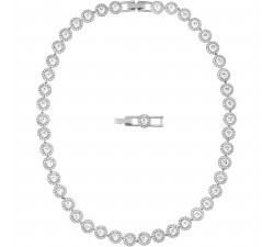 Angelic - White Silver - All-Around Necklace -...
