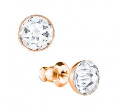 Forward - White Rose-Gold - Earrings - Swarovski-alt