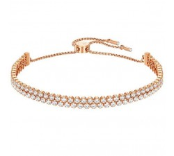 Subtle - White Rose-Gold - Bracelet - Swarovski