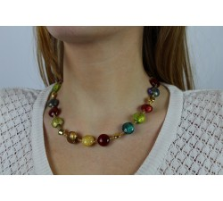Frida - Multicolored - Necklace - Antica Murrina-alt