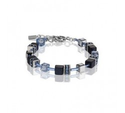 4015 Dark Blue - Bracelet Cœur de Lion