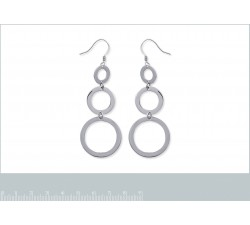 Circles - Stainless Steel Earrings-alt