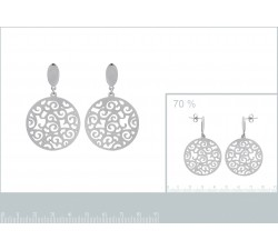 Lace - Stainless Steel Earrings-alt