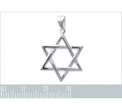 Star of David - Silver Pendant-alt