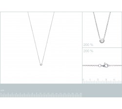 Collier Argent - Oxyde