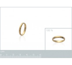 Wedding Medium - Gold-Plated Ring-alt