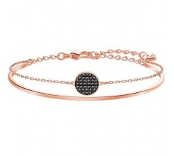 Ginger - Grey Rose-Gold - Bracelet Swarovski