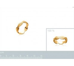 Leaves - Gold-Plated Ring-alt