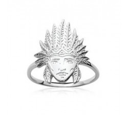 Indian Chief - Silver Ring