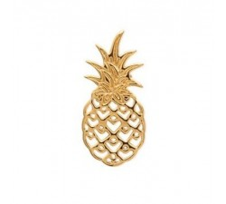 Pineapple - Gold-Plated Pendant