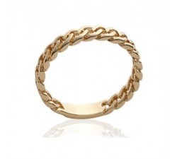 Chain - Gold-Plated Ring