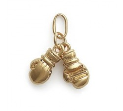 Boxing - Gold-Plated Pendant