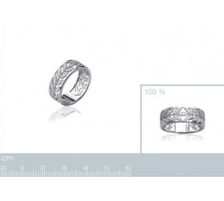 Laurels - Silver Ring-alt