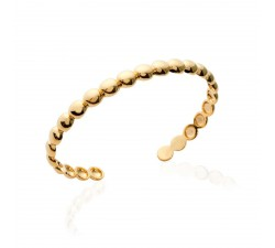 Beads - Gold-Plated Bangle