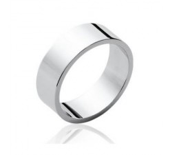 Basic Large - Silver Ring