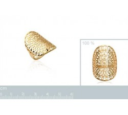 Sun - Gold-Plated Ring