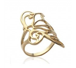 Butterfly - Gold-Plated Ring