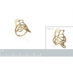 Butterfly - Gold-Plated Ring-alt