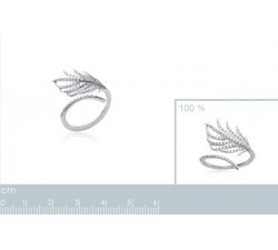 Feather - Silver Ring-alt
