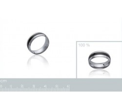 Ruthenium - Stainless Steel Ring-alt