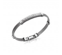 Cables - Stainless Steel Bracelet