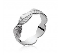 Leaves - Silver Ring
