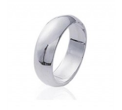 Wedding Large - Silver Ring