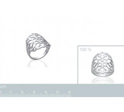 Flower - Silver Ring-alt