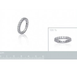 Band Zirconia - Silver Ring-alt